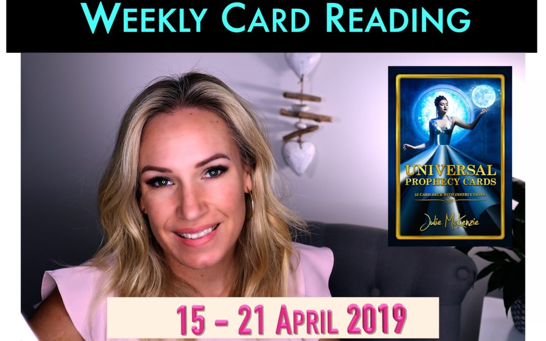 🌸Weekly psychic reading 15 – 21 APR 2019 😌Time to Breathe