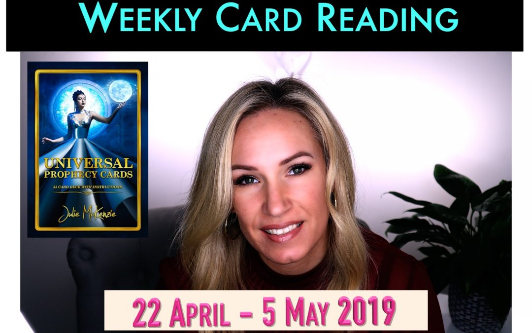 🌸2 Weekly psychic reading 22 APR-5 May 2019 🌻Freedom is being Yourself!
