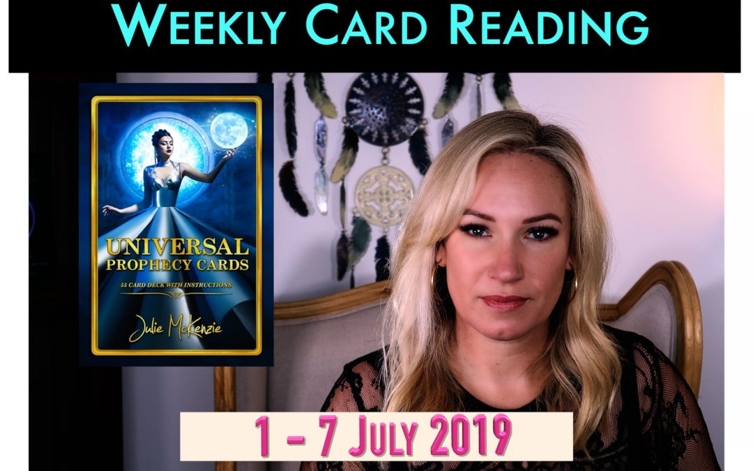 🌸Weekly Card Reading 1-7 July 💎Time to Shine