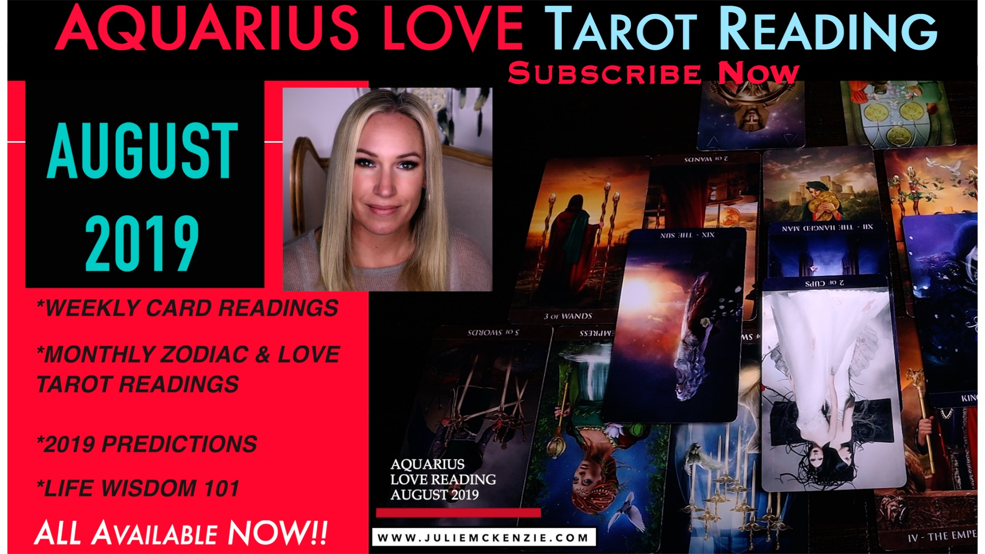 AQUARIUS LOVE Reading AUG 2019 - Fight for Love you Want!