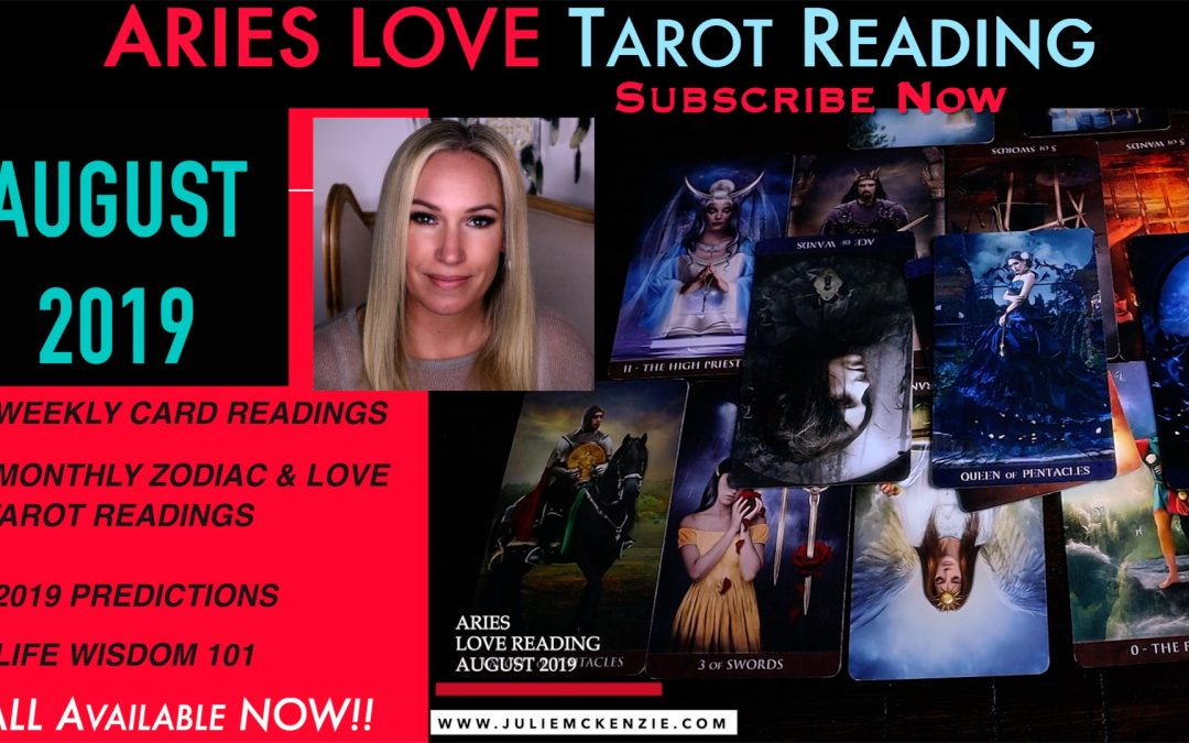 ARIES LOVE Reading AUG 2019 – You are Healing & Coming Together