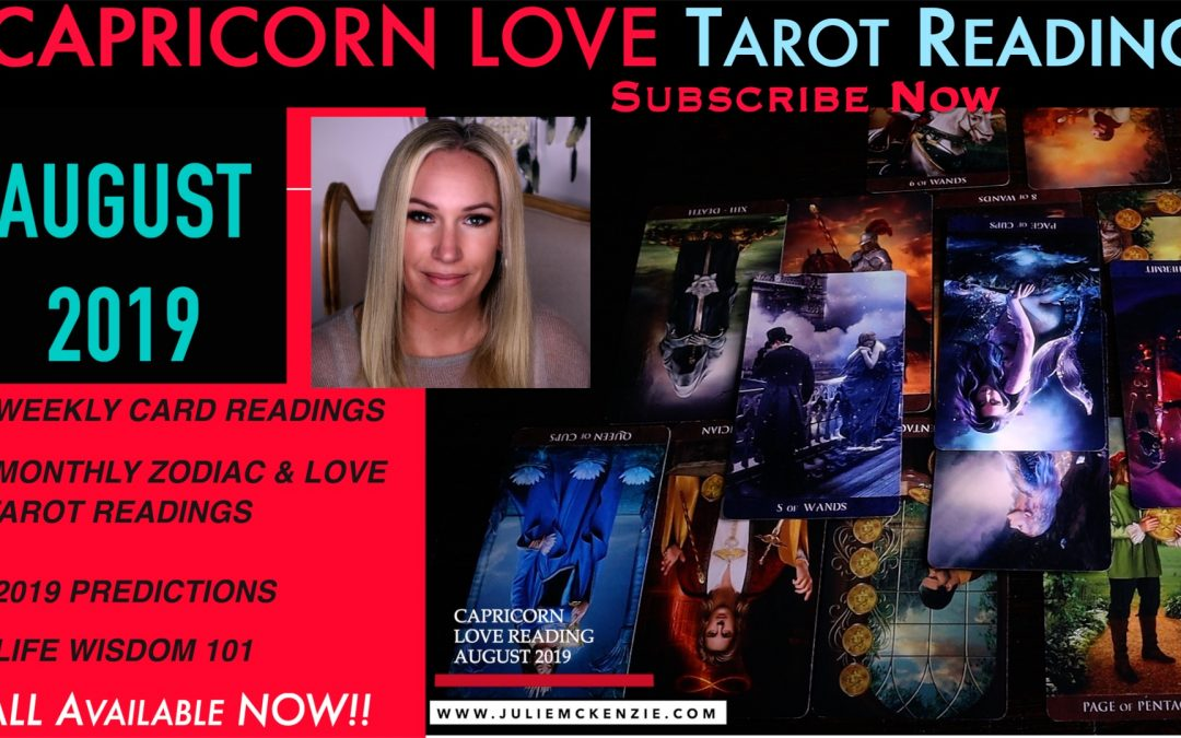 CAPRICORN LOVE Reading AUG 2019 – Unfinished Business